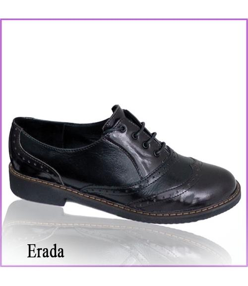 Полуботинки женские Erada-L черн-коричн, Фабрика обуви TOTOlini, г. Балашов
