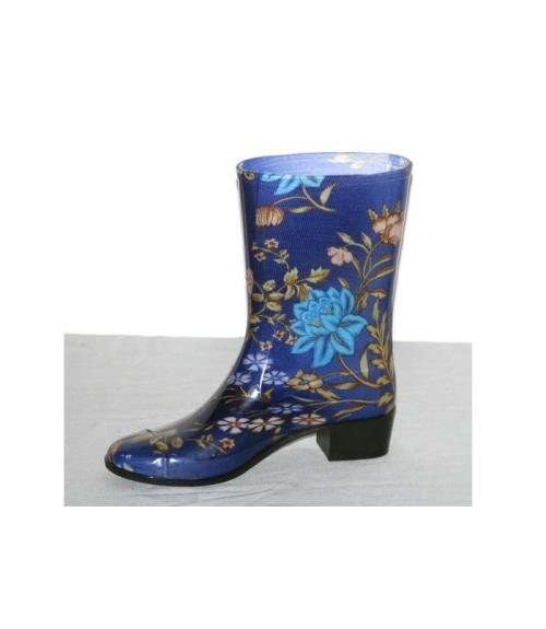 Сапоги ПВХ женские цветные, Фабрика обуви Кристалл-ПЛЮС , г. Крымск