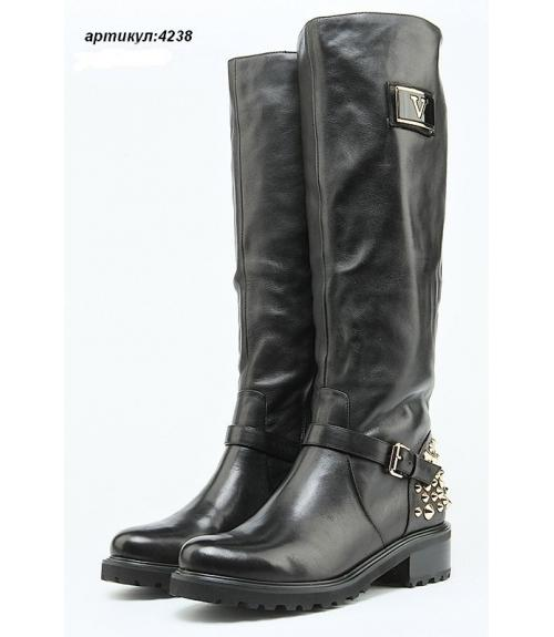 Сапоги женские зимние, Фабрика обуви Shelly, г. Москва