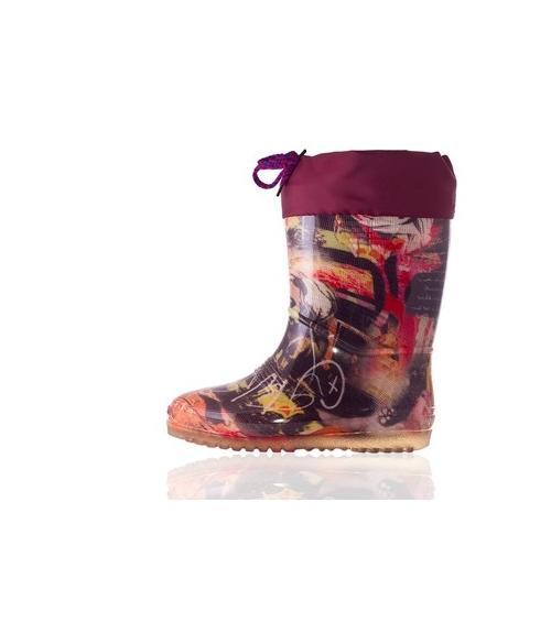 Сапоги резиновые подростковые, Фабрика обуви Дайлос-М, г. Москва