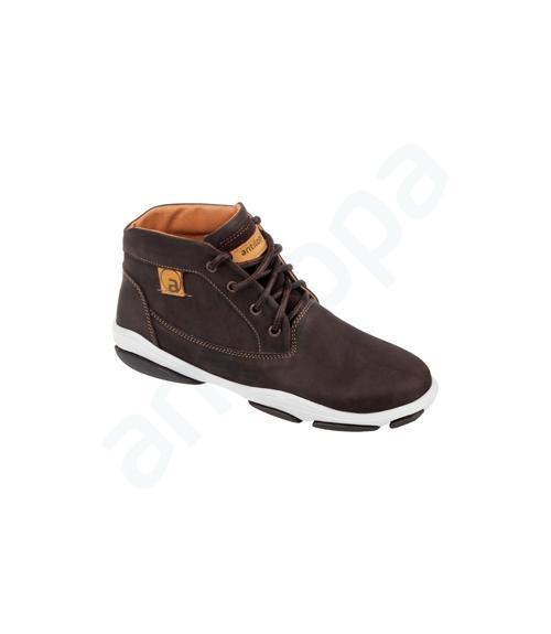 Ботинки школьные мальчиковые, Фабрика обуви Антилопа, г. Коломна