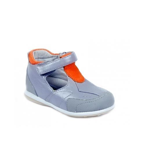 Туфли детские ортопедические, Фабрика обуви Ринтек, г. Москва