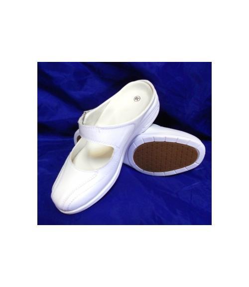 Шлепанцы ЭВА женские белые, Фабрика обуви Центр Профессиональной Обуви, г. Москва