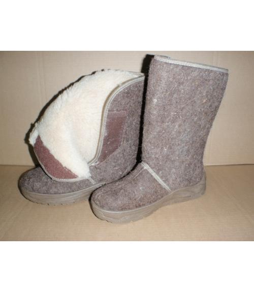 Сапоги суконные женские, Фабрика обуви Уют-Эко, г. Пушкино