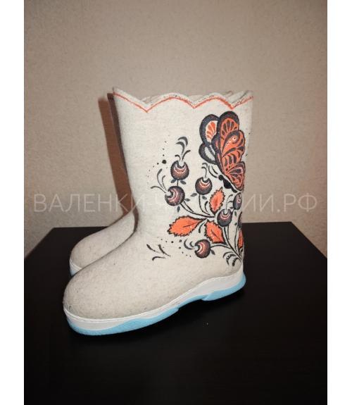 Валенки на подошве ТЭП, Фабрика обуви Валенки Чувашии, г. Чебоксары