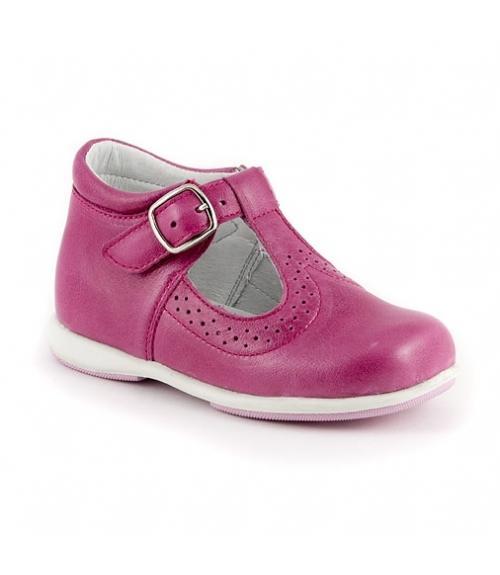 Тефли детские для девочки, Фабрика обуви Детский скороход, г. Санкт-Петербург