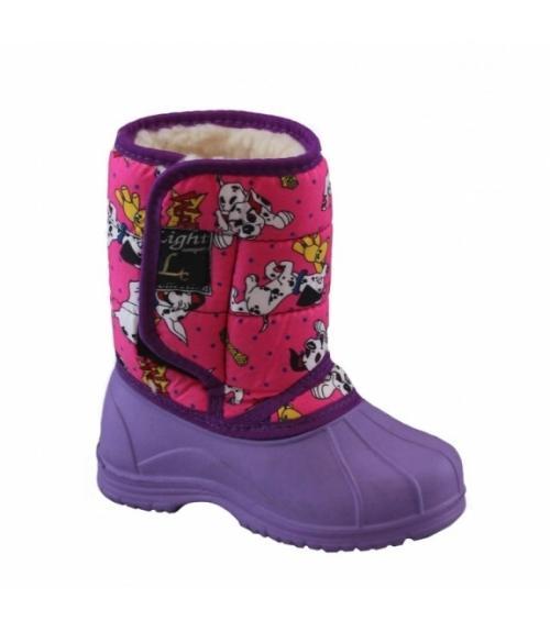 Сапоги детские ЭВА Аляска, Фабрика обуви Light company, г. Кисловодск