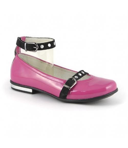 Туфли детские для девочки, Фабрика обуви Детский скороход, г. Санкт-Петербург