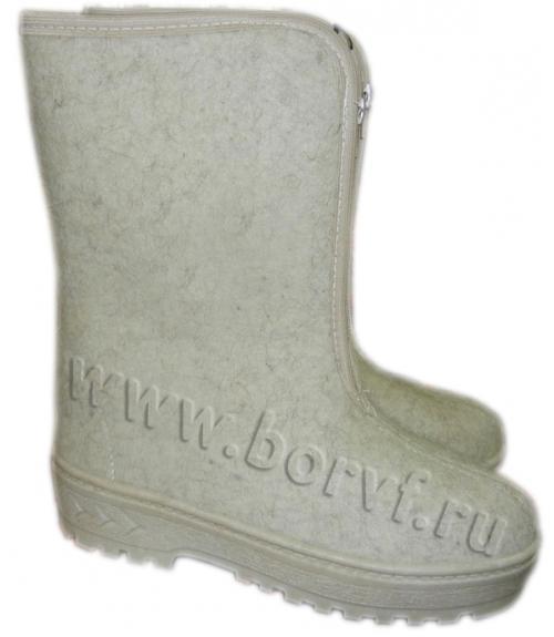 Сапоги войлочные женские, Фабрика обуви Борская войлочная фабрика, г. Бор
