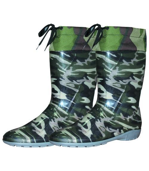 Сапоги ПВХ подростковые с манжетой, Фабрика обуви ВВС, г. Каменск-Шахтинский
