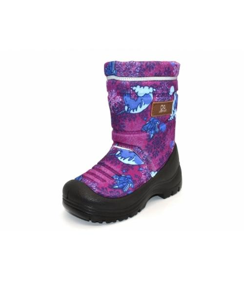 b89b1a999 Мембранные сапоги LIBERTY принт фуксия., обувная фабрика EVA-SHOES ...