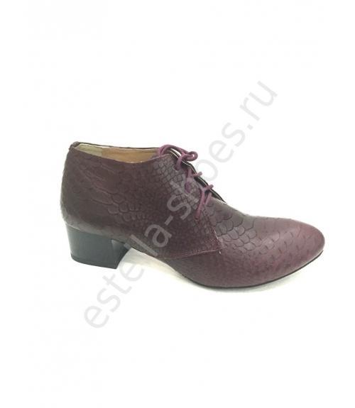 Полуботинки женские, Фабрика обуви Estella shoes, г. Москва