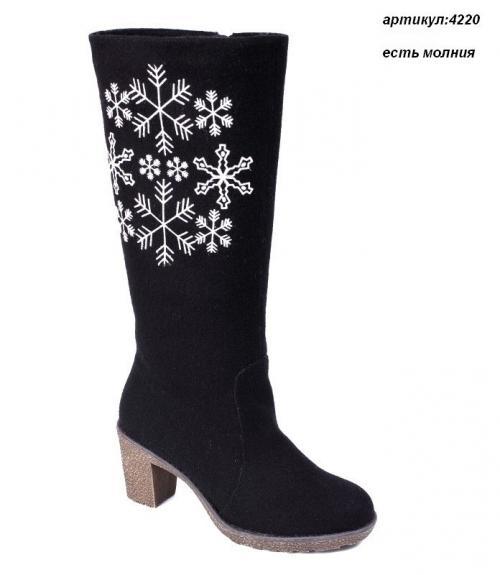 Валенки женские на каблуке, Фабрика обуви Shelly, г. Москва