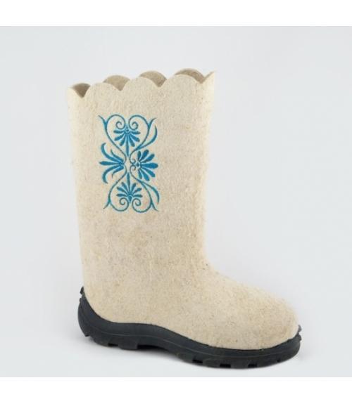 Валенки женские Месяц, Фабрика обуви Ярославская фабрика валяной обуви, г. Ярославль
