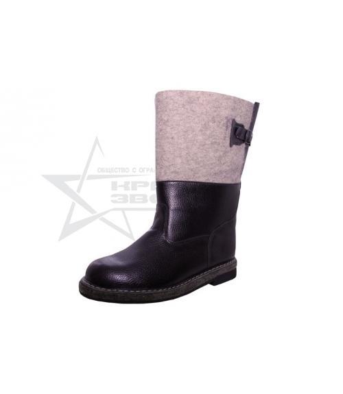 Сапоги мужские утепленные, Фабрика обуви Красная звезда, г. Кимры