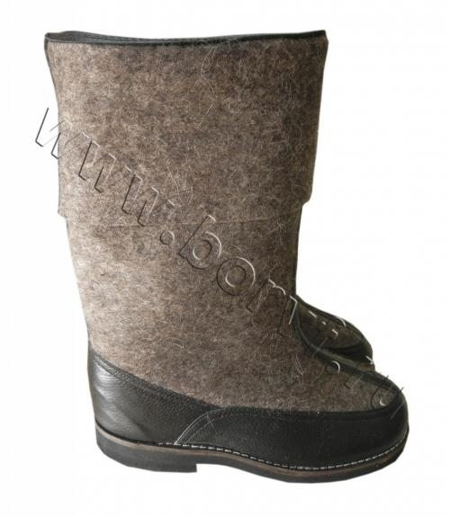Сапоги войлочные Бурки мужские, Фабрика обуви Борская войлочная фабрика, г. Бор