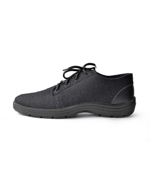 Полуботинки мужские войлочные, Фабрика обуви Яхтинг, г. Чебоксары
