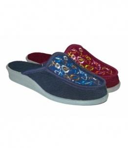 Тапочки женские с вышивкой оптом, обувь оптом, каталог обуви, производитель обуви, Фабрика обуви Soft step, г. Пенза