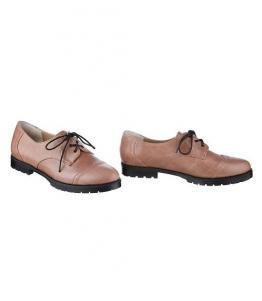Коричневые туфли на толстой подошве, фабрика обуви Sateg, каталог обуви Sateg,Санкт-Петербург