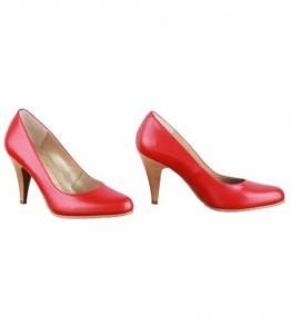 Лодочки красные  оптом, обувь оптом, каталог обуви, производитель обуви, Фабрика обуви Sateg, г. Санкт-Петербург