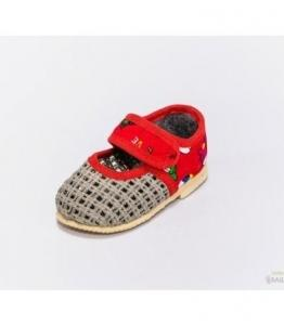 Тапочки детские на липучке, мод. 108 сетка, фабрика обуви Башмачок, каталог обуви Башмачок,Чебоксары