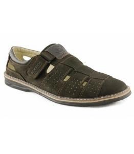 Сандалии мужские Нубук Boksich оптом, обувь оптом, каталог обуви, производитель обуви, Фабрика обуви Boksich, г. Махачкала