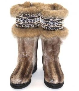 Кисы женские расшитые бисером, Фабрика обуви Восход, г. Тюмень