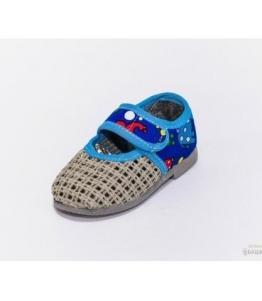 Тапочки детские на липучке, мод. 108 сетка оптом, Фабрика обуви Башмачок, г. Чебоксары