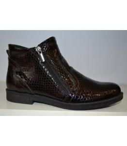 Ботинки женские лакированная кожа bevany, фабрика обуви Беванишуз, каталог обуви Беванишуз,Москва