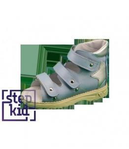 Детские сандалии голубой серебро STEPKID, фабрика обуви STEPKID, каталог обуви STEPKID,Ростов на Дону