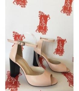Женские босоножки розовые AST, фабрика обуви AST, каталог обуви AST,Евпатория