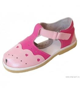 Сандалии дошкольные для девочек, Фабрика обуви Стэп-Ап, г. Давлеканово