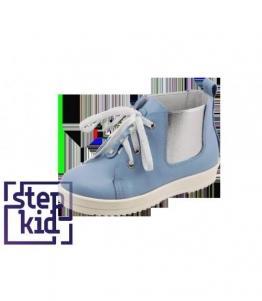 Детские ботинки голубой, фабрика обуви STEPKID, каталог обуви STEPKID,Ростов на Дону