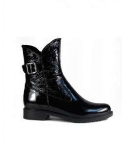 Женские полусапоги из натурального лака оптом, обувь оптом, каталог обуви, производитель обуви, Фабрика обуви Kumi, г. Симферополь