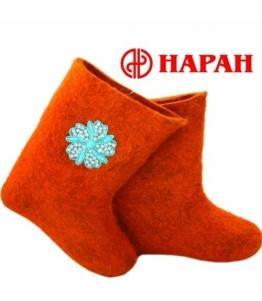 Валенки женские с аппликацией, фабрика обуви Наран, каталог обуви Наран,Улан-Удэ