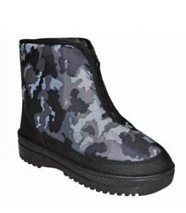Ботинки мужские комбинированные                                          , фабрика обуви Атлантис стиль, каталог обуви Атлантис стиль,Ростов-на-Дону