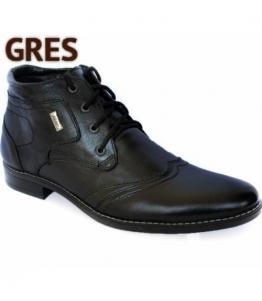 Ботинки мужские зимние, фабрика обуви Gres, каталог обуви Gres,Махачкала
