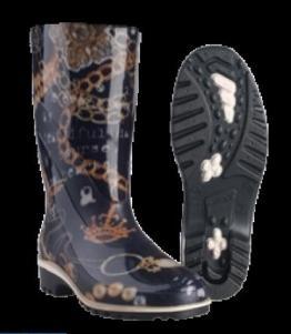 Сапоги резиновые женские ЛЮКС, Фабрика обуви Sardonix, г. Астрахань