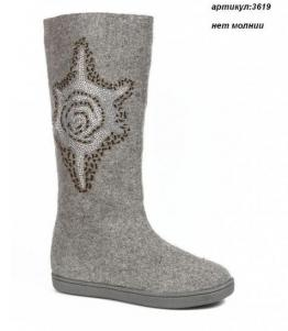 Валенки женские с вышивкой, фабрика обуви Shelly, каталог обуви Shelly,Москва