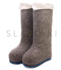 Валенки мужские с цветной подошвой, фабрика обуви SLAVENKI, каталог обуви SLAVENKI,село Ухманы