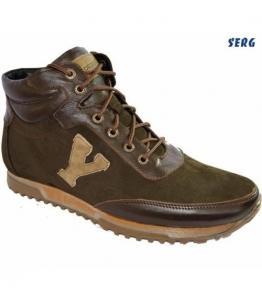 Кроссовки мужские зимние, фабрика обуви Serg, каталог обуви Serg,Махачкала