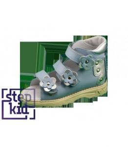 Детские сандалии голубой-серебро STEPKID, фабрика обуви STEPKID, каталог обуви STEPKID,Ростов на Дону