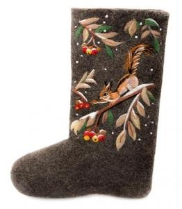 Валенки с набивным рисунком женские, фабрика обуви SLAVENKI, каталог обуви SLAVENKI,село Ухманы