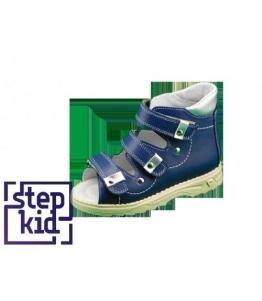 Детские сандалии синий-серебро STEPKID, фабрика обуви STEPKID, каталог обуви STEPKID,Ростов на Дону