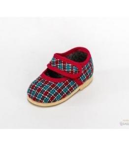Тапочки детские на липучке,  мод. 107 , фабрика обуви Башмачок, каталог обуви Башмачок,Чебоксары