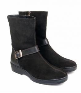 Полусапоги женские черные, фабрика обуви Меркурий, каталог обуви Меркурий,Санкт-Петербург