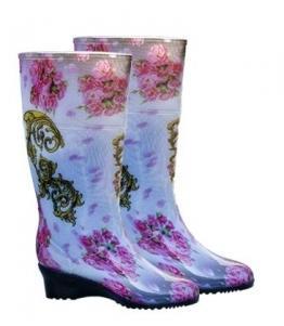 Сапоги ПВХ женские на танкетке оптом, обувь оптом, каталог обуви, производитель обуви, Фабрика обуви Корнетто, г. Краснодар