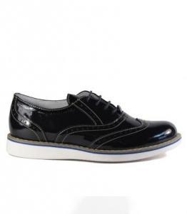 Полуботинки Kumi из натурального лака оптом, обувь оптом, каталог обуви, производитель обуви, Фабрика обуви Kumi, г. Симферополь