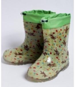 Сапожки малодетские из ПВХ утепленные с надставкой, фабрика обуви Каури, каталог обуви Каури,Тверь