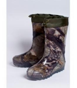 Сапоги школьные из ПВХ утепленные с надставкой, фабрика обуви Каури, каталог обуви Каури,Тверь
